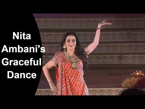 Nita Ambani Sets off Isha Ambani's Pre-Wedding Celebrations with a Graceful Dance Performance.