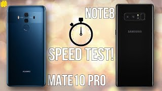 Huawei Mate 10 Pro vs Samsung Galaxy Note8 Speed Test: Is the Kirin 970 the Fastest?