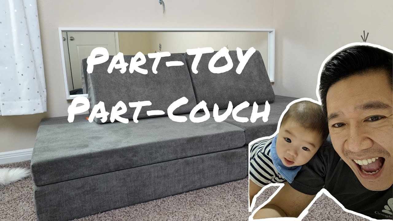 Nugget Comfort Review   Best Baby Playmat and Couch - YouTube