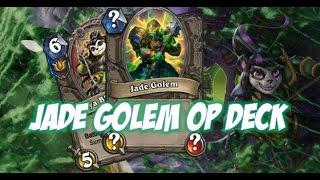 Hearthstone: Jade Golem Druid Deck Is Insane!!!