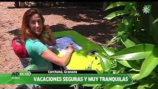 Reportaje Camping Don Cactus de Carchuna, Motril