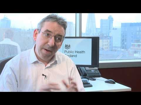 HEALTH:  Public Health England welcome video with Duncan Selbie