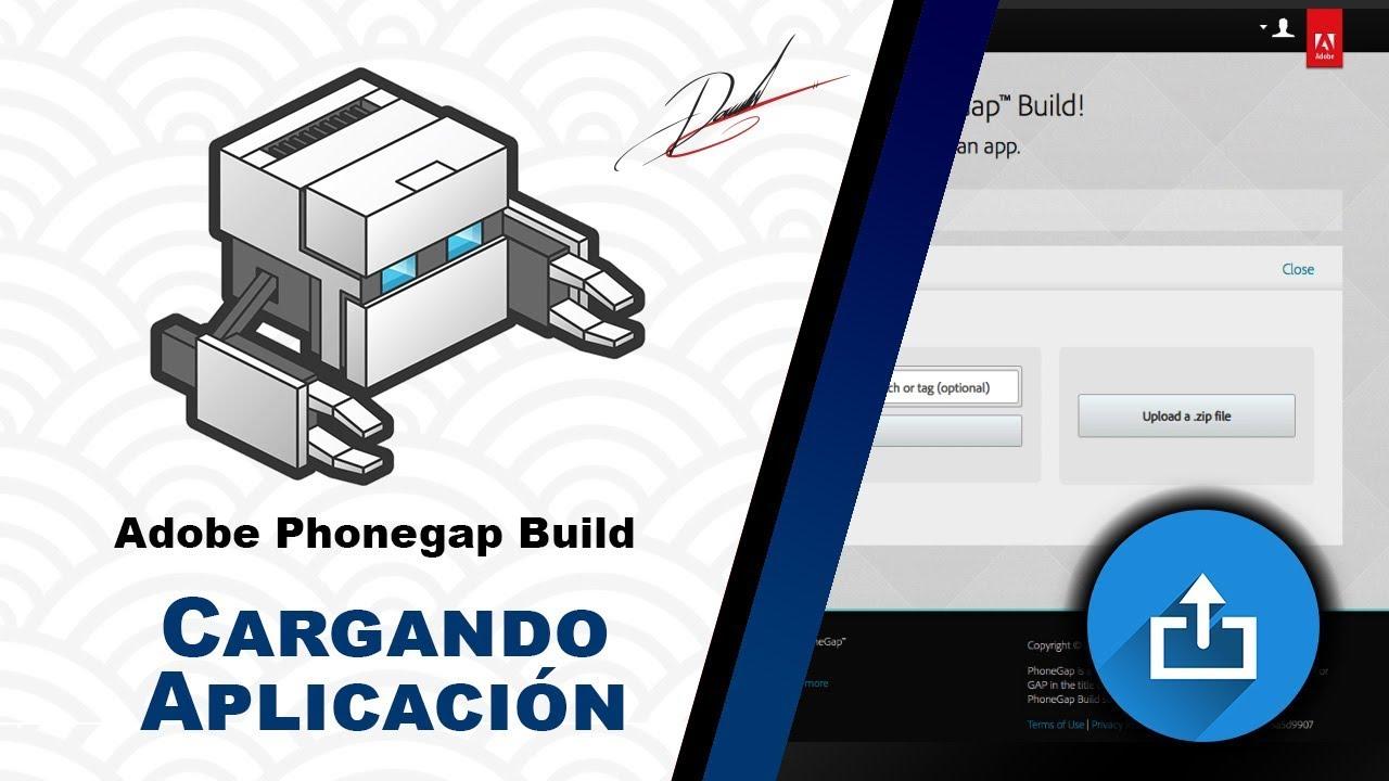 Adobe Phonegap Build - Compilando la Aplicación