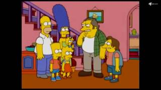 The Simpsons: Nelsons father [Clip]
