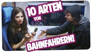 10 ARTEN VON BAHNFAHRERN | Joyce