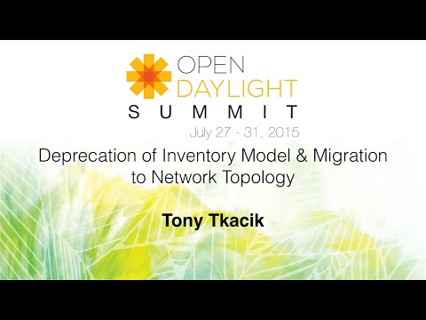 Deprecation of Inventory Model & Migration to Network Topology