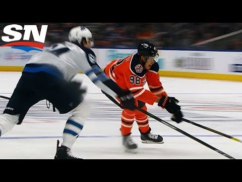 Jesse Puljujarvi Cruises Through Jets Defence To Score For Oilers
