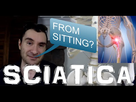 How Sciatic Nerve Pain & Piriformis Syndrome & Sciatica Is Caused By Sitting