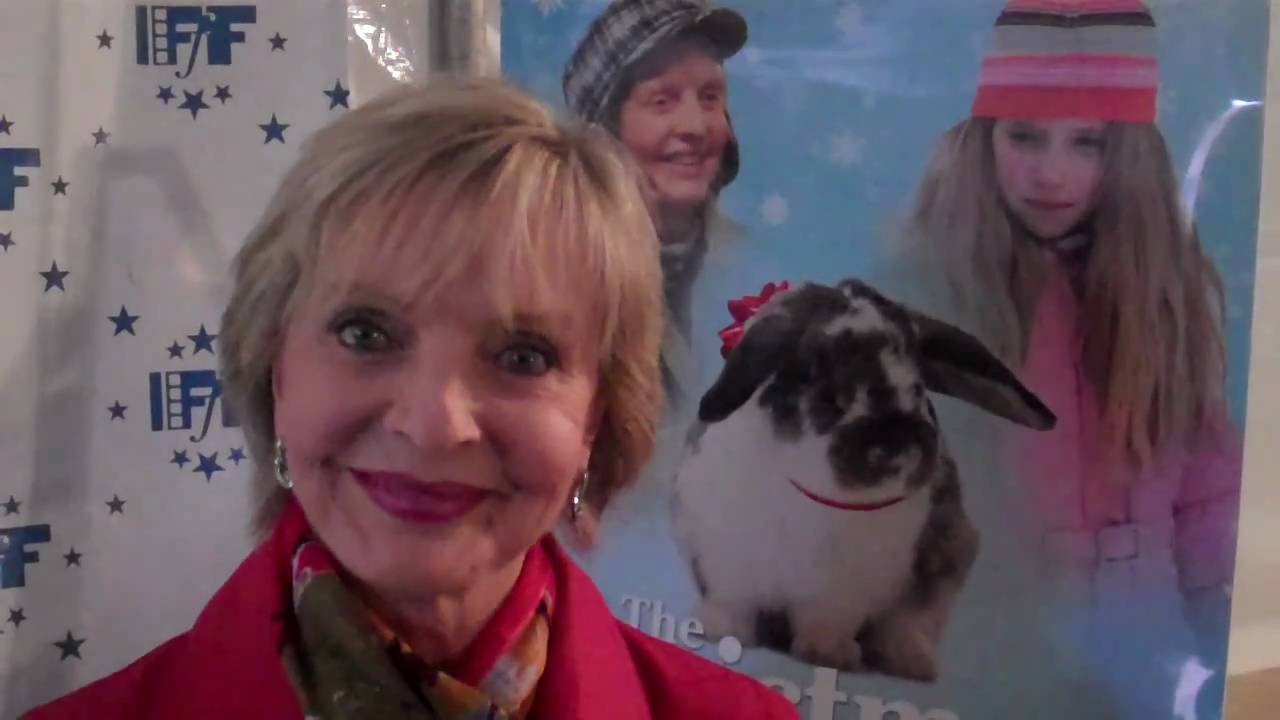 The Christmas Bunny.Florence Henderson Talking About The Christmas Bunny Movie