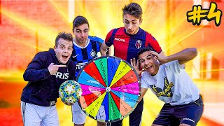 ⚽ FOOTBALL WHEEL CHALLENGE #4 - ENRY LAZZA vs PIRLASV