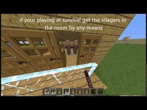 minecraft how to get villagers to spawn