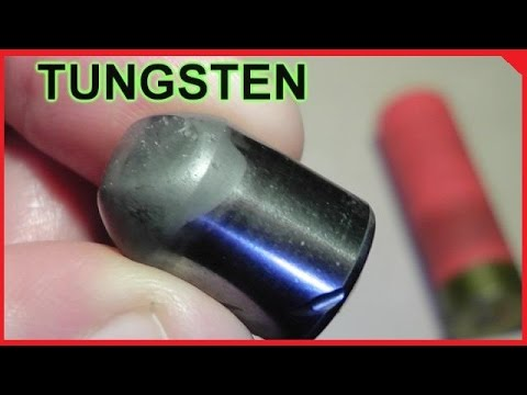 TUNGSTEN Anti-Superman Shotgun Slugs -Testing!