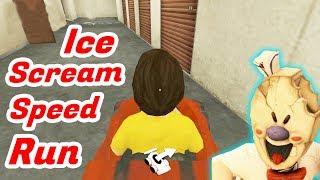 Ice Scream Speedrun Full Gameplay
