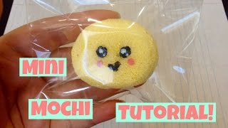 Homemade Squishy Tutorial: Mini Mochi^U^