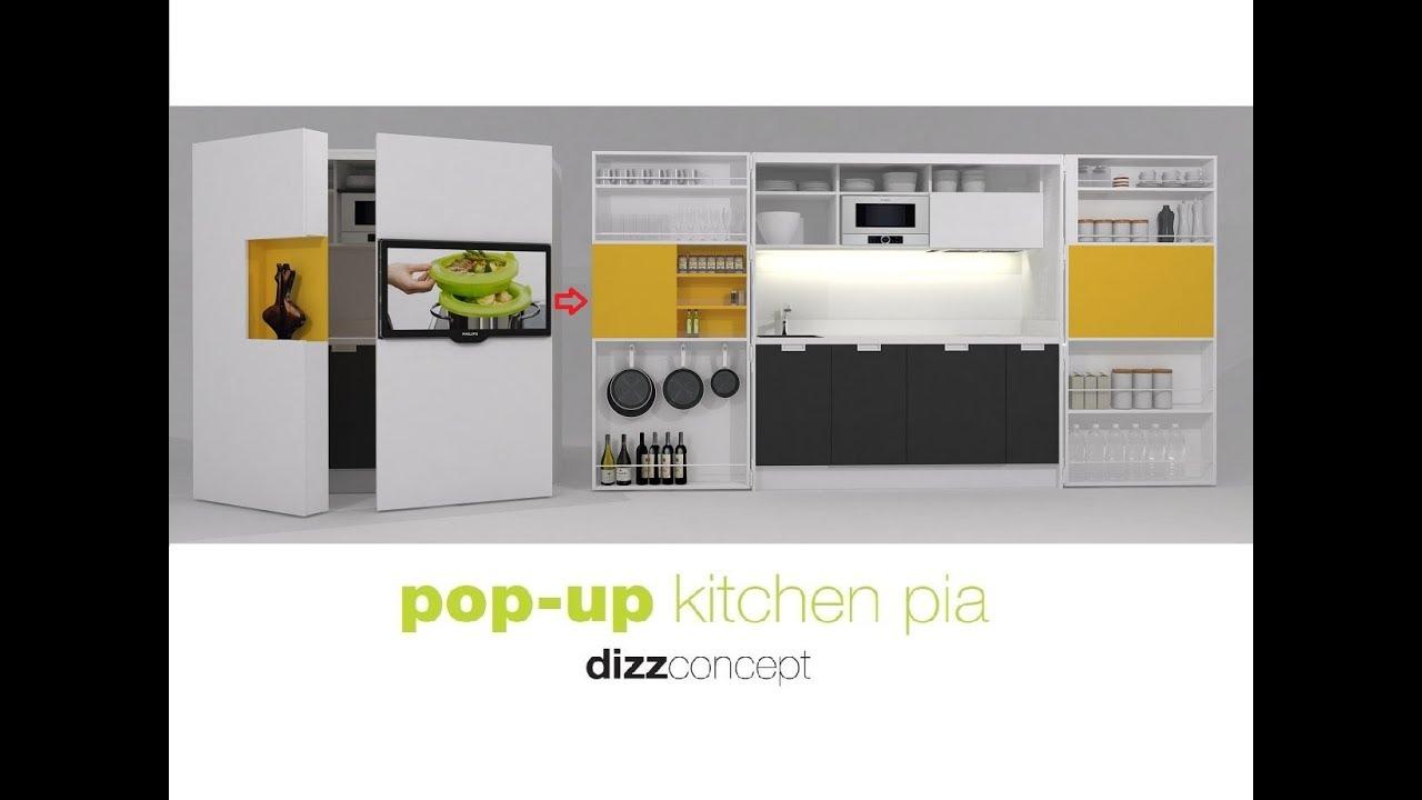 Pop Up Kitchen Pia By Dizzconcept