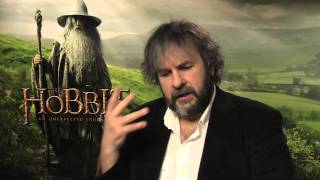 Peter Jackson On The Hobbit: An Unexpected Journey