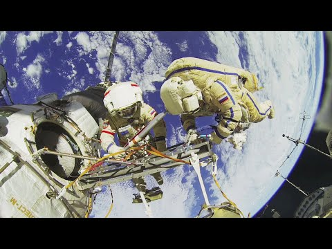 Narrated 3D tour of the International Space Station