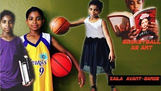 Zaila Avant-garde | BEYOND AMAZING |  Basketball  Art | 4th Grade