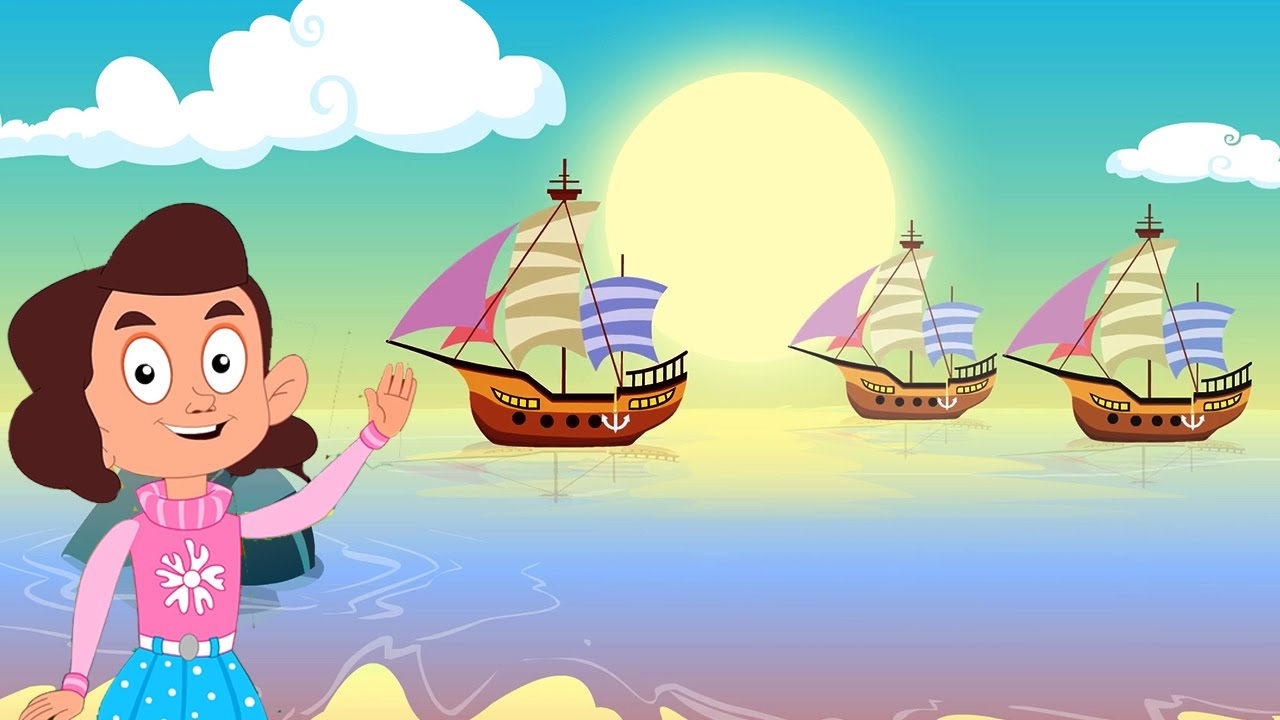 I Saw Three Ships Come Sailing In   Christmas Song With Lyrics - YouTube
