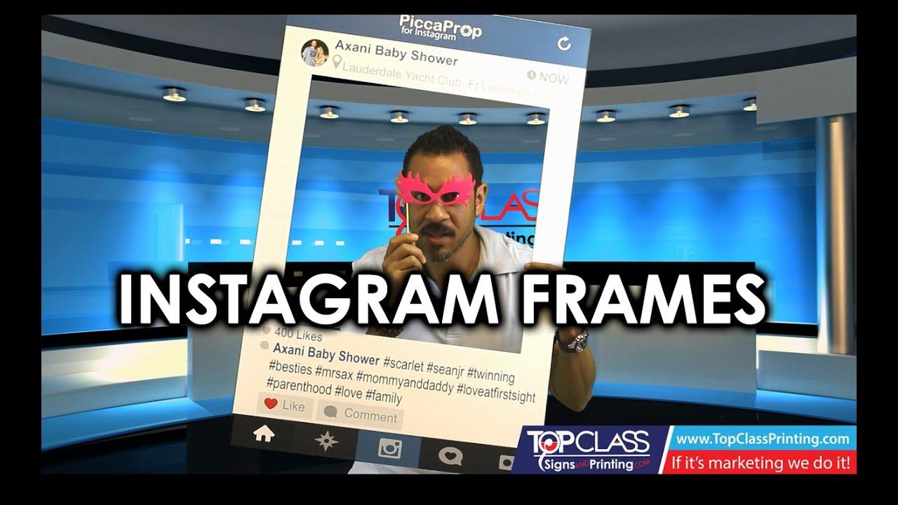 Instagram Photo Prop Review Social Media Props Top Class Signs