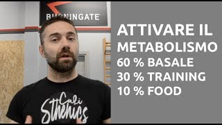 Come Accelerare o Riattivare il Metabolismo - Calisthenics, pesi o Aerobica?