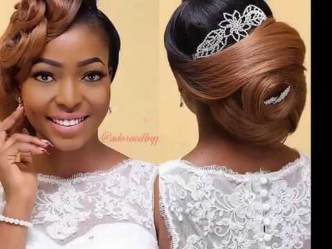 Fantastic collection of African Bridal hair Styles
