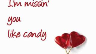 Candy (Mandy Moore) with lyrics on the screen