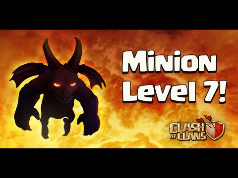 Clash of Clans - Sneak peek#8 Minion lvl7 and Reduced Boosts Cost!