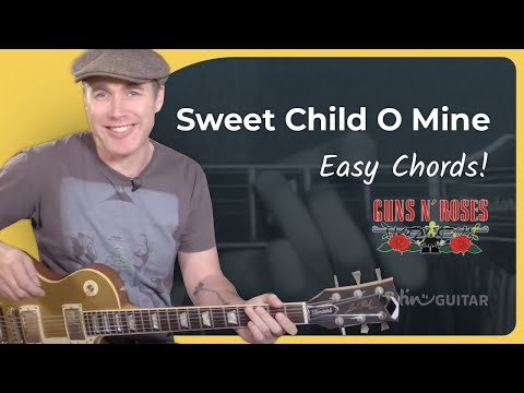 How To Play Sweet Child O' Mine [#2 CHORDS] Guns 'n' Roses - Guitar Lesson Tutorial (ST-377)