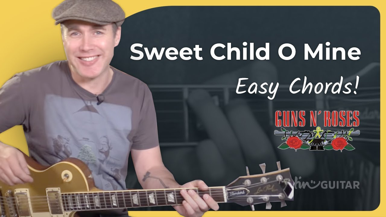 How To Play Sweet Child O Mine 2 Chords Guns N Roses Guitar