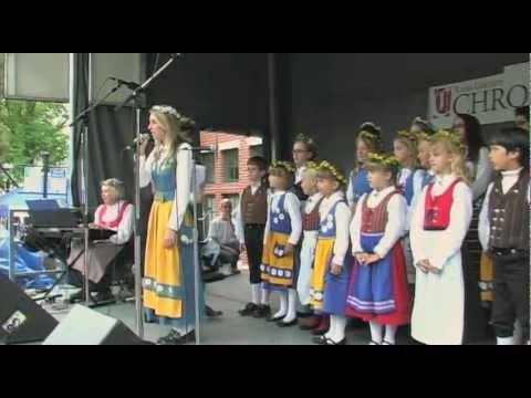 Swedish American Children's Choir 2011: Swedish Days Geneva Chamber Geneva, IL