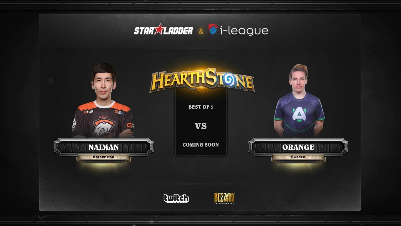 [RU] Naiman vs Orange | SL i-League Hearthstone StarSeries Season 3 (29.05.2017)