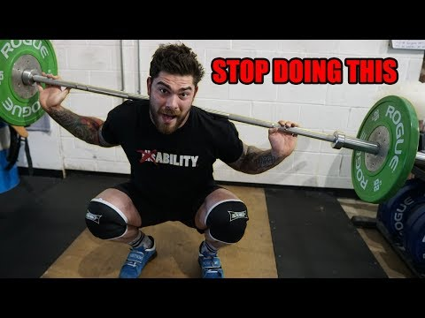 STOP doing this every time you squat (improve your squat)