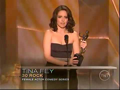 Tina Fey SAG 2009 speech  best actress comedy