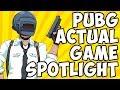 PlayerUnknown's Battlegrounds ACTUAL Game Spotlight