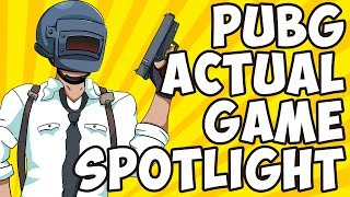 PlayerUnknown's Battlegrounds ACTUAL Game Spotlight
