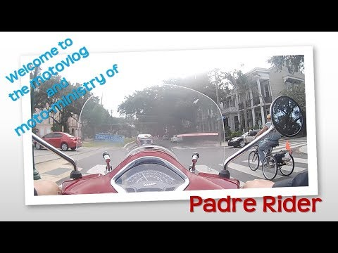 Padre Rider and the Vespa GTS  Touring Edition Reveal