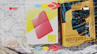 WD My Passport 1 TB Portable External Hard Drive Unboxing (RED)