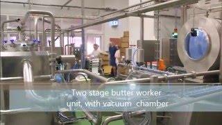 butter making machine - continious butter churn