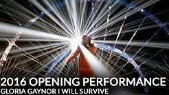 Gloria Gaynor Opens 2016 NTAs