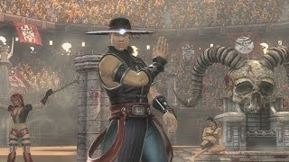 Mortal Kombat 9 - Kung Lao комбо урок