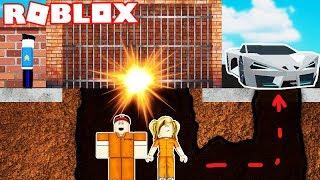 ROBLOX-SECRET ESCAPE DE PRISON! Vito et Bella