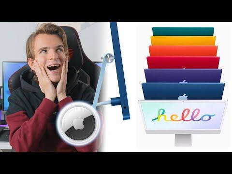 TUTTE LE NOVITÀ DELL'EVENTO APPLE 4/20 - Apple Tag, iMac & iPad Pro M1!