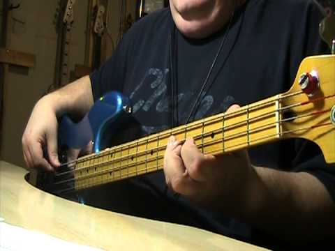 U2 Christmas Baby Please Come Home Bass Cover