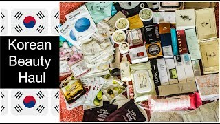 Video Korean Beauty and Skincare Haul | K-Beauty Favorites | Huge Haul download MP3, 3GP, MP4, WEBM, AVI, FLV Desember 2017