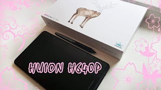 обзор планшета Huion H640P  Unboxing and Review