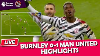 Pogba Sends Manchester United Top   Burnley 0-1 Manchester United EPL Highlights