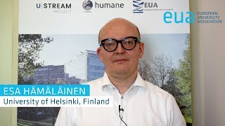4th Funding Forum – Esa Hämäläinen, University of Helsinki, Finland