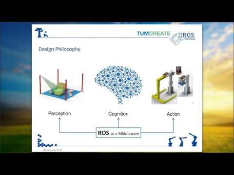 Robotics at TUM CREATE, Singapore: Insight into ROS based Projects | Dr. Suraj Nair