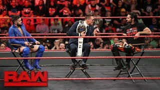 The Miz tries to get inside his WrestleMania opponents' heads: Raw, March 12, 2018